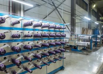 Линия для производства овощной сетки из полиэтилена