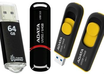 Флэш-карта USB 64 Gb новая в коробке