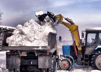 Вывоз снега в г. Сыктывкар и пригород