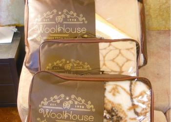 Полутороспальный комплект WoolHouse, 100 шерсть.