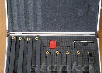 Набор резцов со сменными пластинами сечением 16 мм - 9 шт.