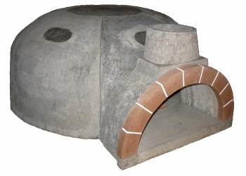 Печь для пиццы из жаростойкого бетона
