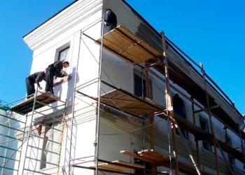 Утепляем стены домов пенопластом, штукатурим фасады