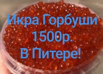 Икра Горбуши 2019г. Малосольная Камчатка 1500р.