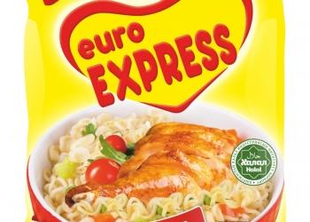 """Лапша быстрого приготовления """"Euro Express"""",60 гр"""