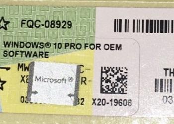 Продам Windows 10 pro / Home