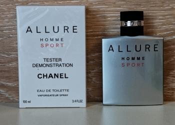 Chanel Allure Homme Sport Оригинал 100 ml Бесплатная доставка по РФ