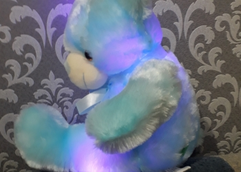 Мишка с подсветкой